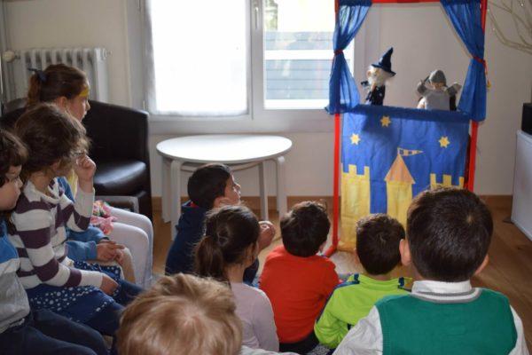 spectacle de marionnettes enfant