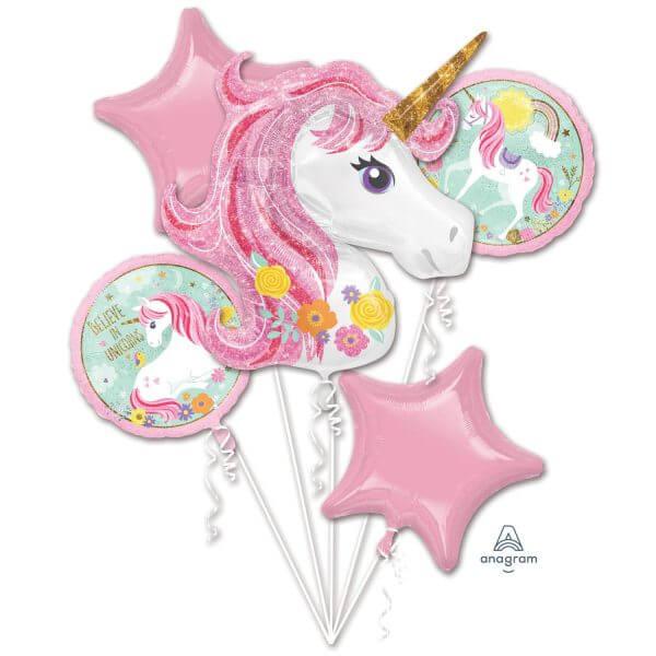 decoration ballon helium licorne