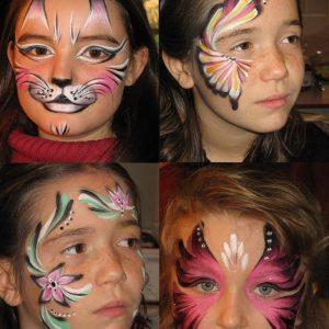 maquillages enfants anniversaire