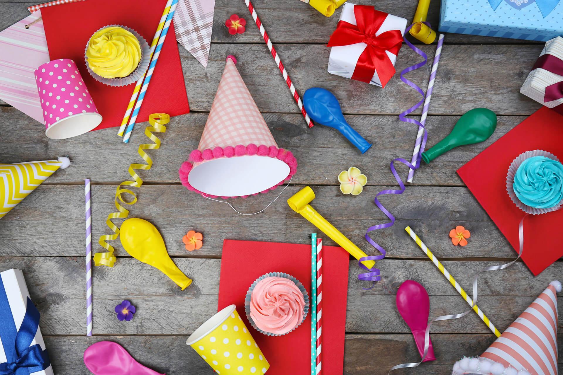 Box pour anniversaire enfant