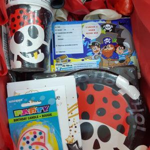 Box anniversaire enfant Pirate