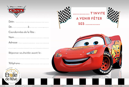 carton-invitation-Cars-Etoile-de-Reve
