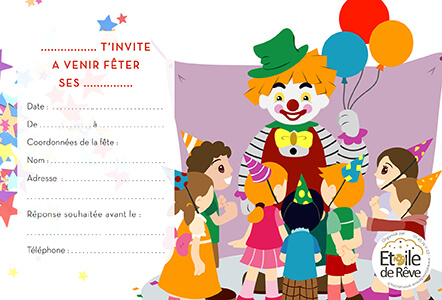 carton-invitation-Clown-Etoile-de-Reve