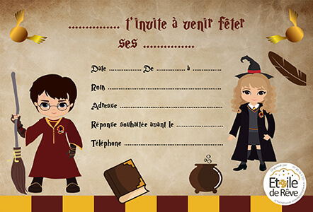 carton-invitation-Harry-potter-Etoile-de-Reve