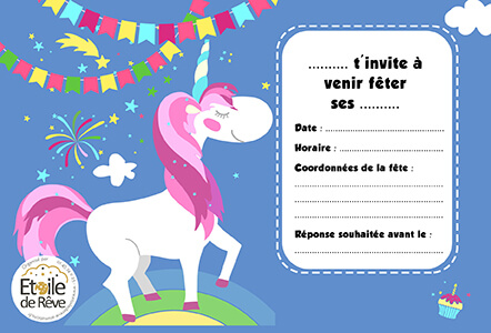 carton-invitation-Licorne-Etoile-de-Reve