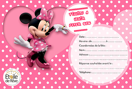 carton-invitation-Minnie-Etoile-de-Reve