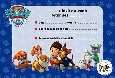 carton-invitation-Pat-patrouille-Etoile-de-Reve