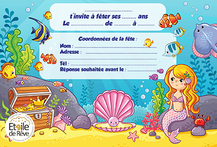carton-invitation-Sirène-Etoile-de-Reve