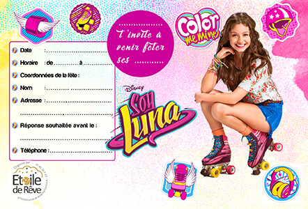 carton-invitation-Soy-luna-Etoile-de-Reve