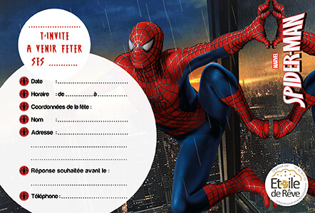 carton-invitation-Spiderman-Etoile-de-Reve