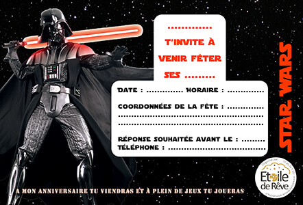 carton-invitation-Star-wars-Etoile-de-Reve