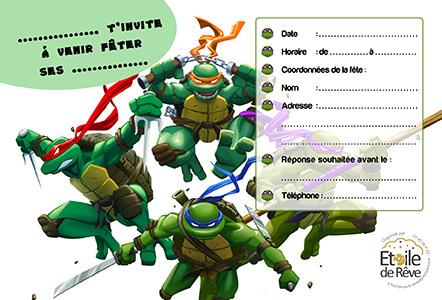 carton-invitation-Tortue-Ninja-Etoile-de-Reve