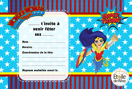 carton-invitation-Wonder-woman-Etoile-de-Reve