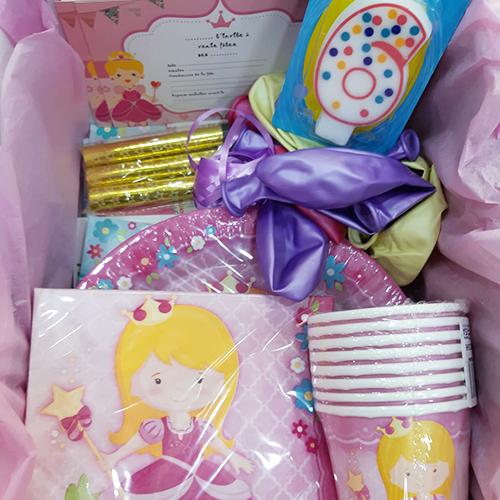 box anniversaire Princesse
