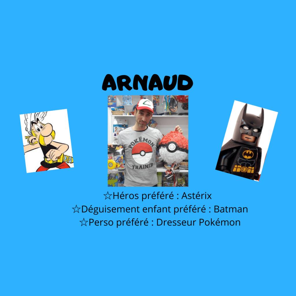 Arnaud animateur anniversaire enfant