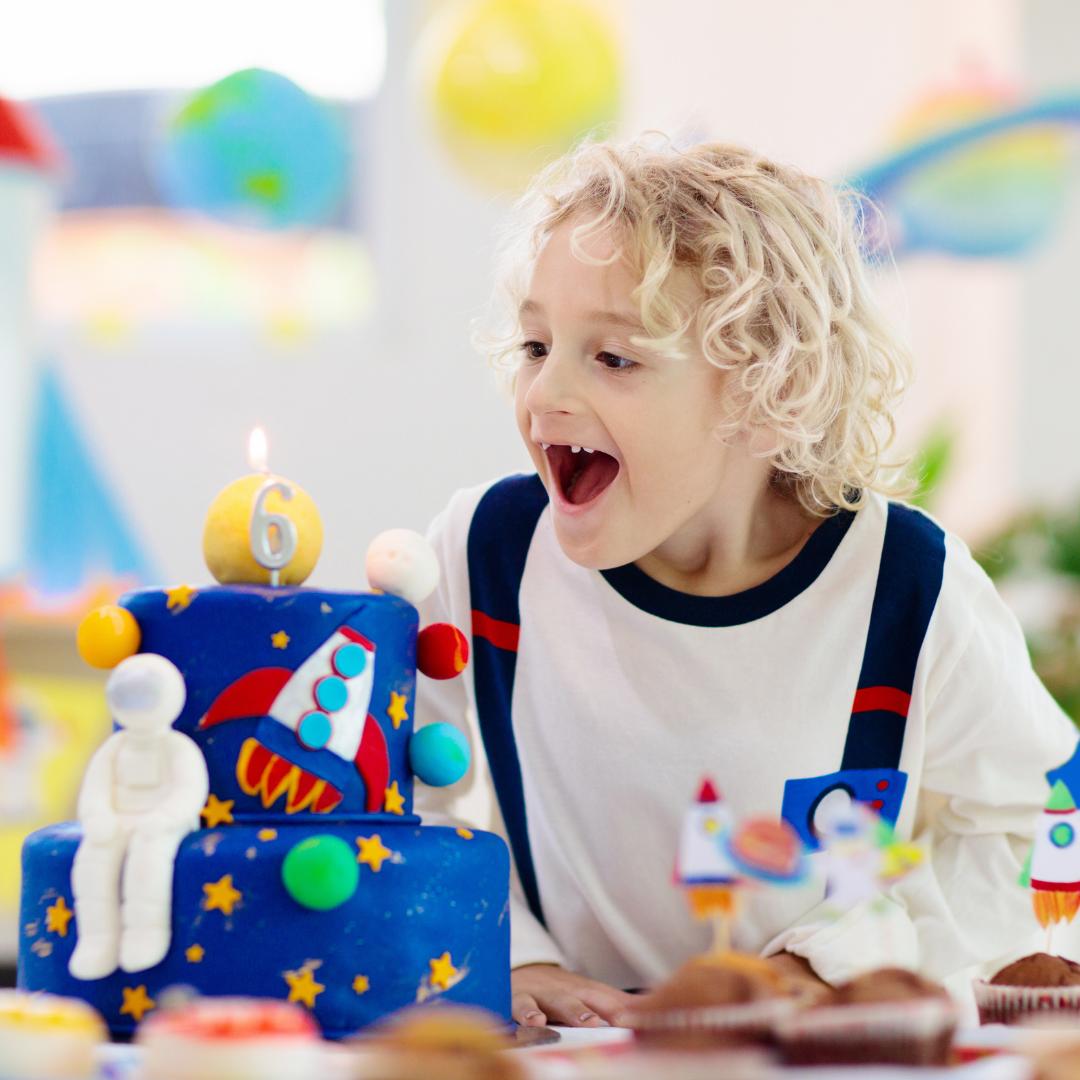 anniversaire enfant thème espace